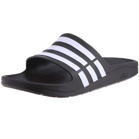 adidas  DURAMO SLIDE  women's Mules / Casual Shoes in black Image
