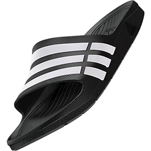 adidas  DURAMO SLIDE  women's Mules / Casual Shoes in black Image 12