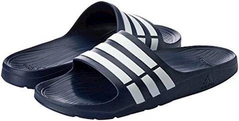adidas  DURAMO SLIDE  women's Mules / Casual Shoes in black Image 16