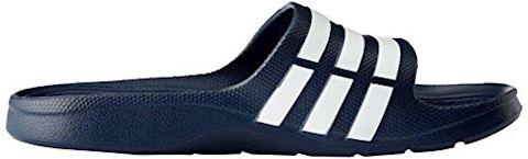 adidas  DURAMO SLIDE  women's Mules / Casual Shoes in black Image 17