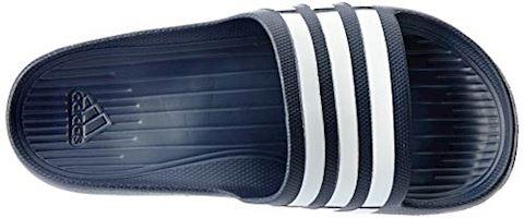 adidas  DURAMO SLIDE  women's Mules / Casual Shoes in black Image 18