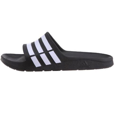 adidas  DURAMO SLIDE  women's Mules / Casual Shoes in black Image 5