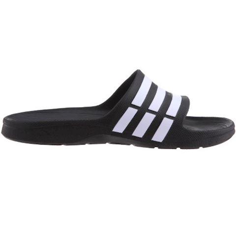 adidas  DURAMO SLIDE  women's Mules / Casual Shoes in black Image 6