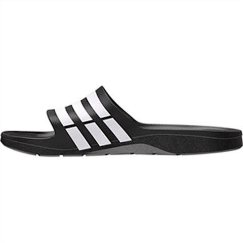 adidas  DURAMO SLIDE  women's Mules / Casual Shoes in black Image 8