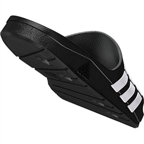 adidas  DURAMO SLIDE  women's Mules / Casual Shoes in black Image 10