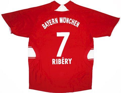 adidas Bayern Munich Kids SS Home Shirt 2007/09 Image