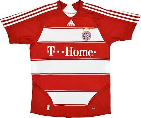 adidas Bayern Munich Kids SS Home Shirt 2007/09 Image 3