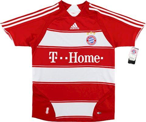 adidas Bayern Munich Kids SS Home Shirt 2007/09 Image 4