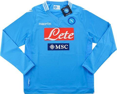 Macron Napoli Kids LS Player Issue Home Shirt 2013/14 Image