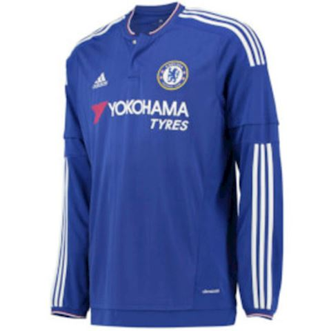 adidas Chelsea Kids LS Home Shirt 2015/16 Image
