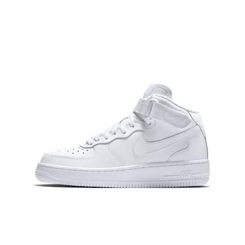 Nike Air Force 1 Mid 06 Kids' Shoe - White Image