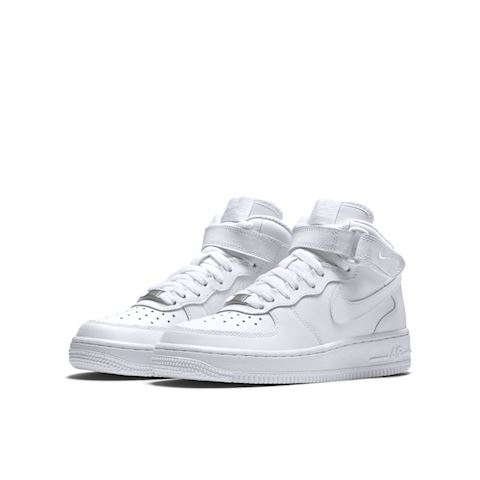 Nike Air Force 1 Mid 06 Kids' Shoe - White Image 2