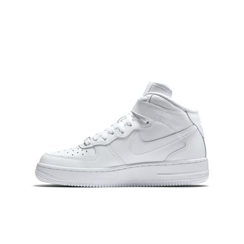 Nike Air Force 1 Mid 06 Kids' Shoe - White Image 3