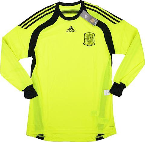adidas Spain Mens LS Goalkeeper Player Issue Away Shirt 2013 Image 2
