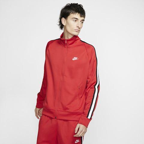 6b1202538 Nike Sportswear N98 Men's Knit Warm-Up Jacket - Red | AR2244-657 ...
