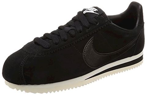Nike Classic Cortez Suede Women's Shoe - Black Image
