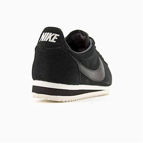 Nike Classic Cortez Suede Women's Shoe - Black Image 12