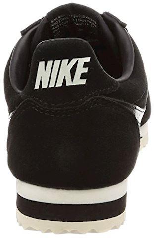 Nike Classic Cortez Suede Women's Shoe - Black Image 2
