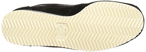 Nike Classic Cortez Suede Women's Shoe - Black Image 3