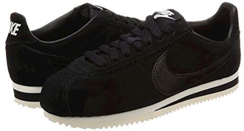 Nike Classic Cortez Suede Women's Shoe - Black Image 5