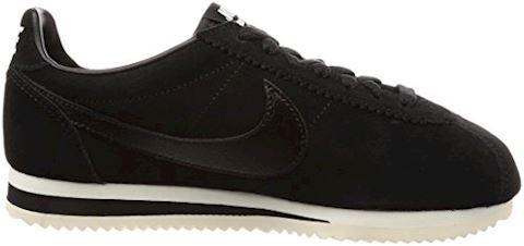 Nike Classic Cortez Suede Women's Shoe - Black Image 6