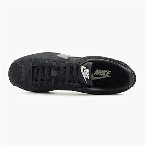 Nike Classic Cortez Suede Women's Shoe - Black Image 9