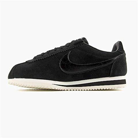 Nike Classic Cortez Suede Women's Shoe - Black Image 10