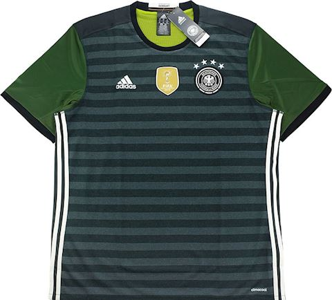 adidas Germany Kids SS Away Shirt 2015 Image 2