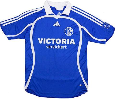 adidas Schalke 04 Kids SS Home Shirt 2006/07 Image 3
