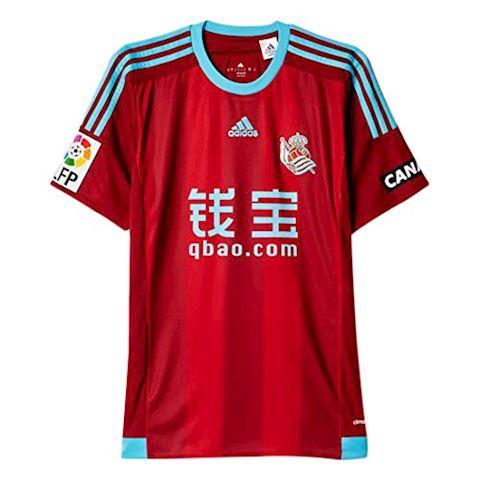 adidas Real Sociedad Mens SS Away Shirt 2015/16 Image 5