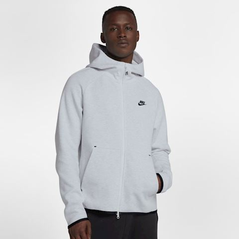 Nike Sportswear Tech Fleece Men's Full-Zip Hoodie - Grey Image