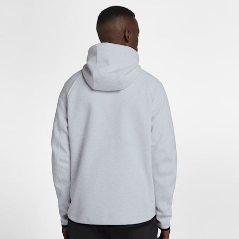 Nike Sportswear Tech Fleece Men's Full-Zip Hoodie - Grey Image 2