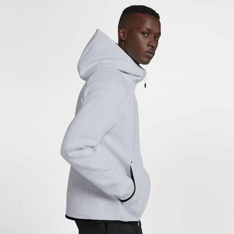 Nike Sportswear Tech Fleece Men's Full-Zip Hoodie - Grey Image 3