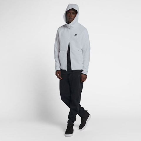 Nike Sportswear Tech Fleece Men's Full-Zip Hoodie - Grey Image 5