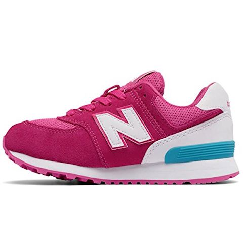 New Balance 574 High Visibility Kids Grade School Shoes Image 12