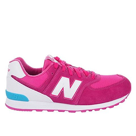 New Balance 574 High Visibility Kids Grade School Shoes Image 13