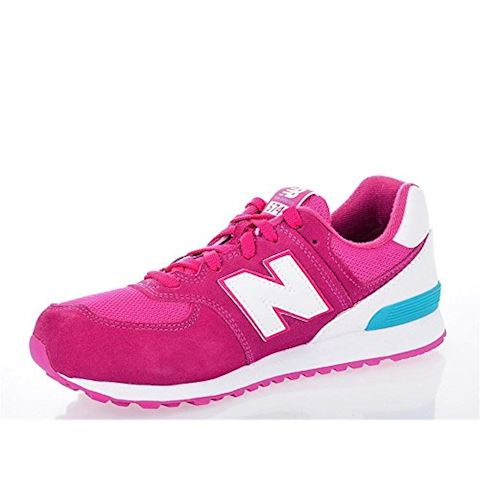 New Balance 574 High Visibility Kids Grade School Shoes Image 14