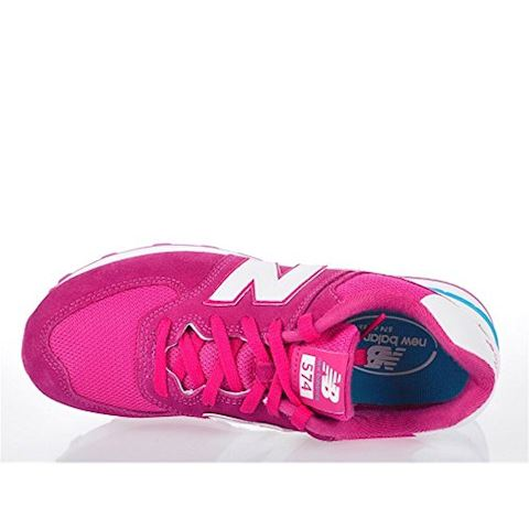 New Balance 574 High Visibility Kids Grade School Shoes Image 16