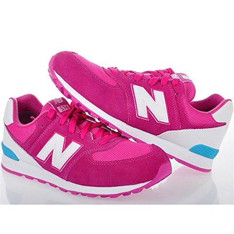 New Balance 574 High Visibility Kids Grade School Shoes Image 18