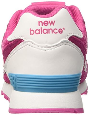New Balance 574 High Visibility Kids Grade School Shoes Image 2