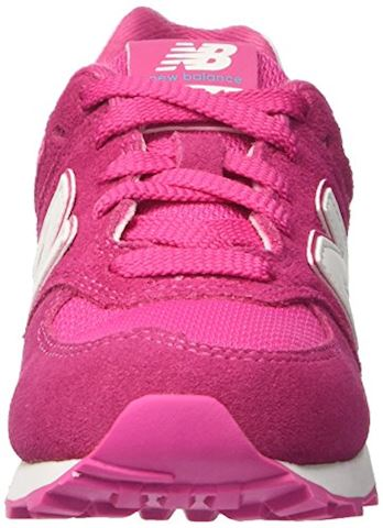New Balance 574 High Visibility Kids Grade School Shoes Image 4