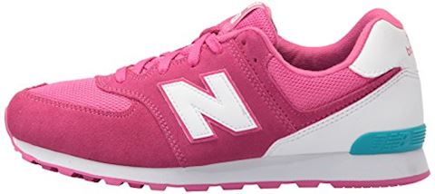 New Balance 574 High Visibility Kids Grade School Shoes Image 5