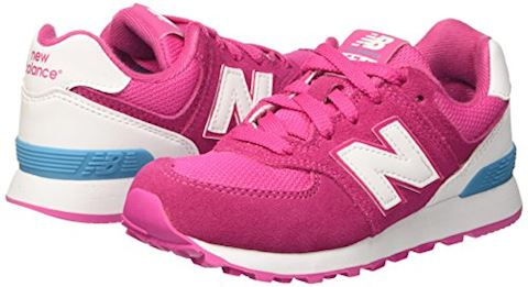 New Balance 574 High Visibility Kids Grade School Shoes Image 6