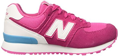 New Balance 574 High Visibility Kids Grade School Shoes Image 7