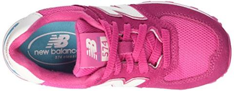 New Balance 574 High Visibility Kids Grade School Shoes Image 8