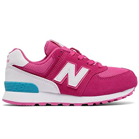New Balance 574 High Visibility Kids Grade School Shoes Image 9