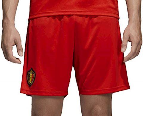 adidas Belgium Mens Home Shorts 2018 Image 3