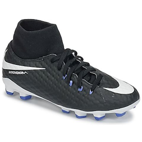 Nike Jr. Hypervenom Phelon III Dynamic Fit Older Kids'Firm-Ground Football Boot - Black Image