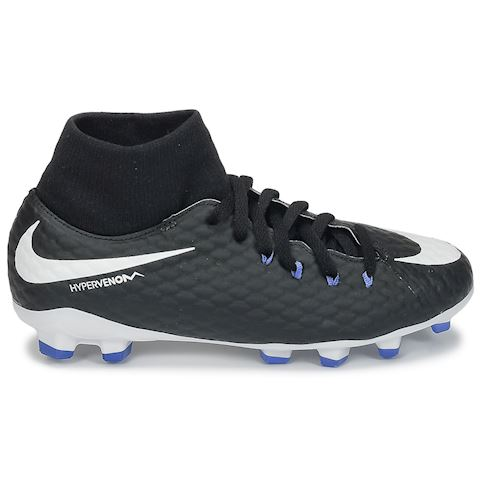 Nike Jr. Hypervenom Phelon III Dynamic Fit Older Kids'Firm-Ground Football Boot - Black Image 2