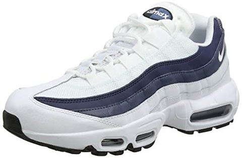 promo code 29a8d 1bda5 Nike Air Max 95 Essential White  White-Midnight Navy-Monsoon Blue Image